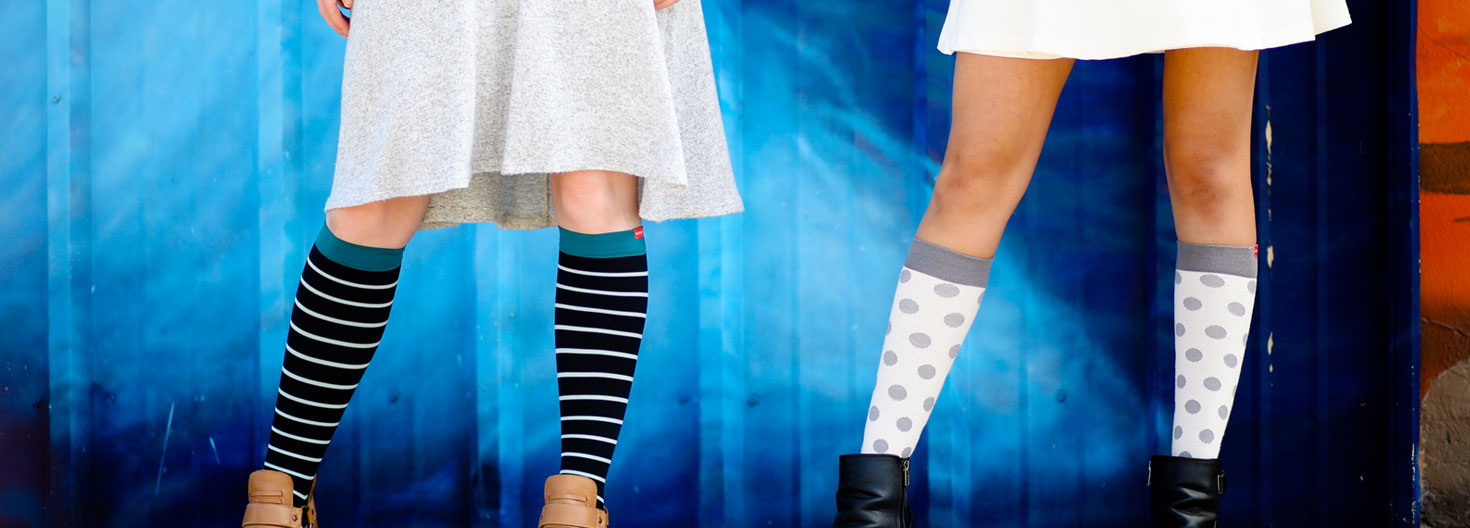 Stylish Compression Socks to Ease Your Tired Legs