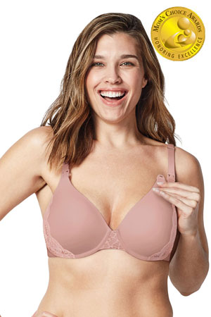 55cf23fed Bravado! Designs Belle Underwire Maternity   Nursing Bra (Rose Dust) by  Bravado Designs