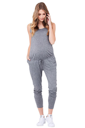 ca3f9856873 Ingrid & Isabel Crossover Maternity & Nursing Friendly Jumpsuit. 44% off  $88.00 $49.60. Ripe Relaxed Fit Jersey Jumpsuit (Grey Marle) by Ripe  Maternity
