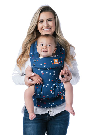 Baby Tula Explore 6-in-1 Baby & Toddler Carrier (7-45 lbs ) in Alpha