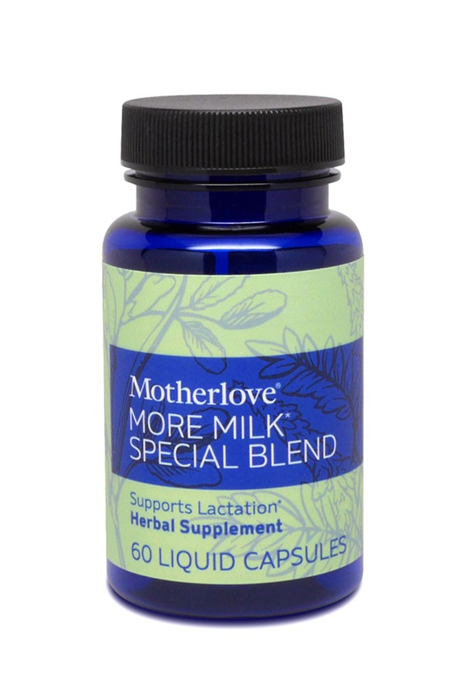 Motherlove More Milk Special Blend (60 Capsules)