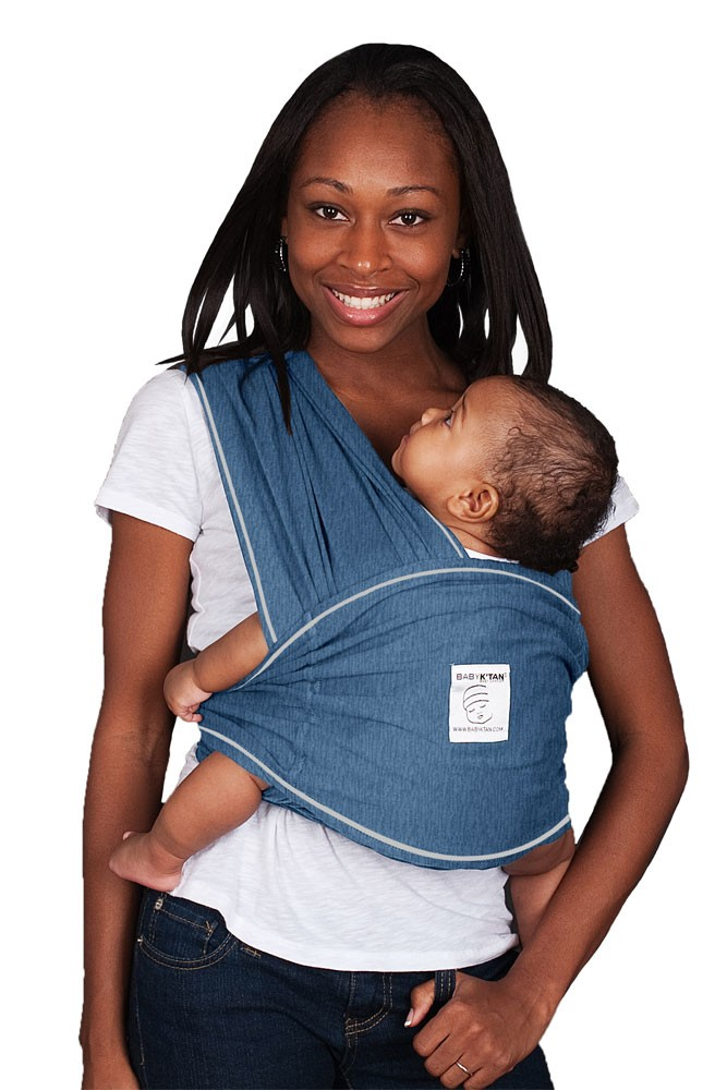 Baby K'tan Baby Carrier (Denim)