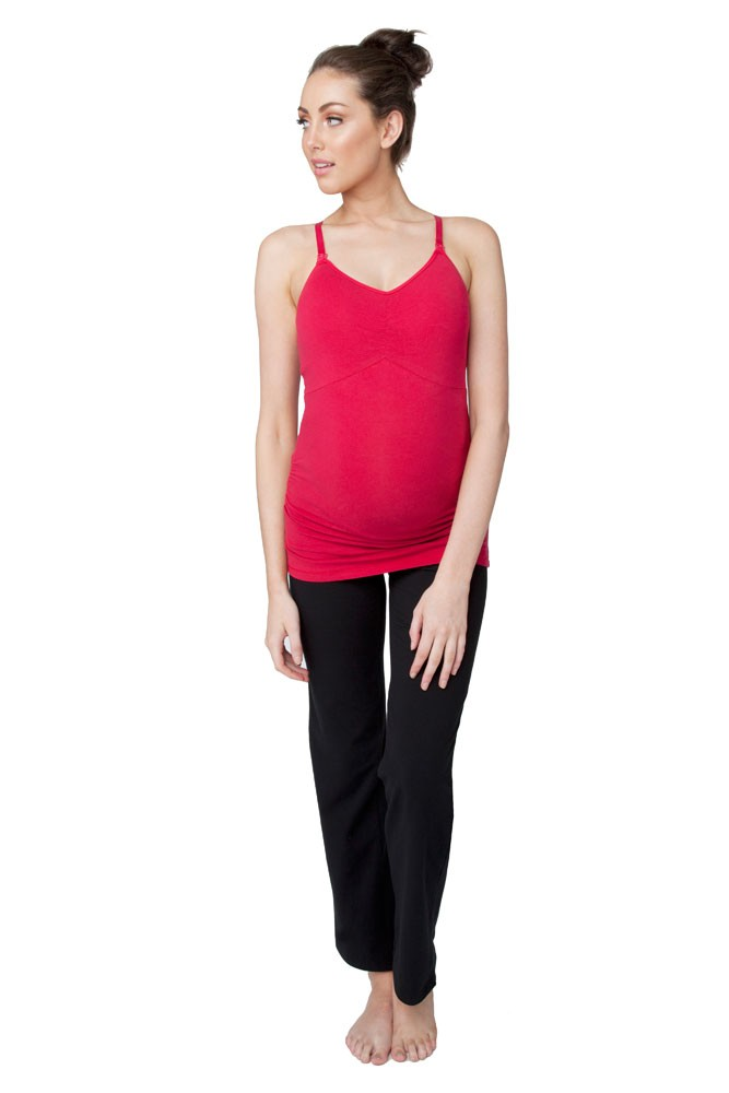 Ripe Ultimate Express Padded Nursing Tank (Lipstick)