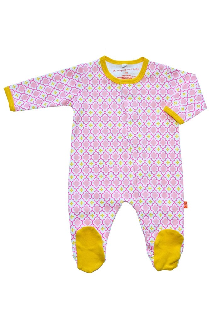 Magnificent Baby Magnetic Me™ Baby Footie (Marrakesh)