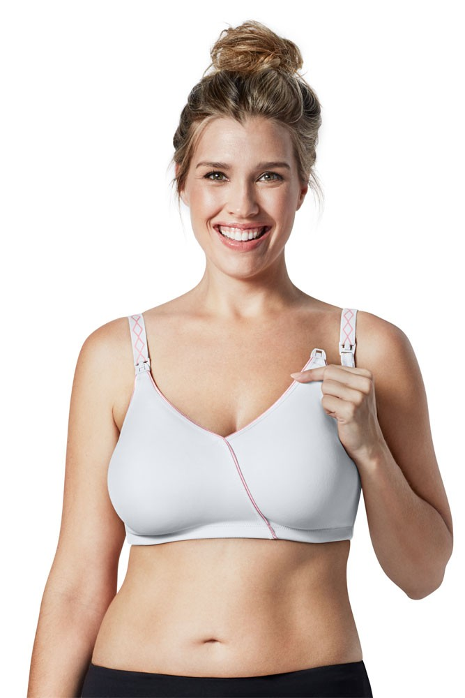 Bravado Designs Essential Embrace Nursing Bra (White Orchid)