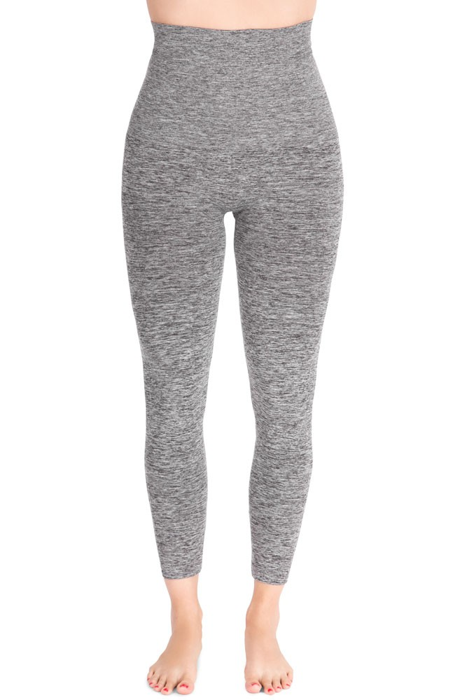 Mother Tucker® Compression Leggings (Dark Heather Grey)