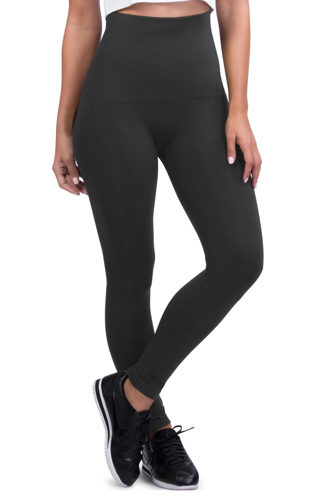 Mother Tucker® Compression Leggings (Steel Grey)