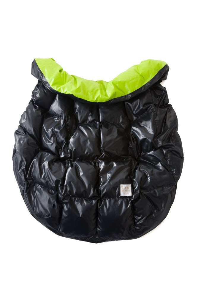 7 A.M. Enfant Cygnet Cover (Black/Neon Green)