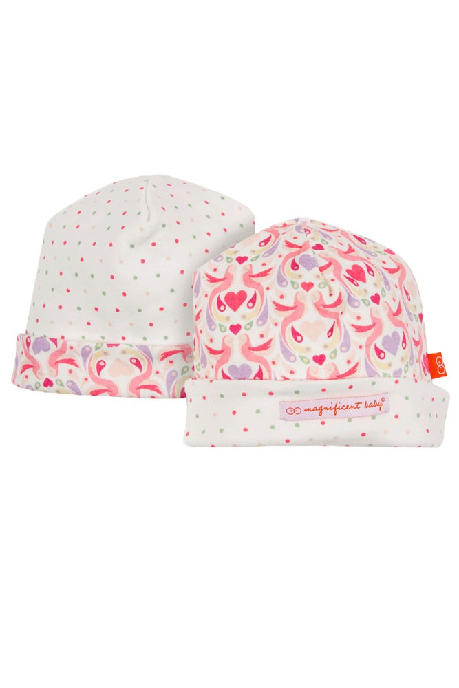 Magnetic Me™ by Magnificent Baby Reversible Cap (Love Birds)