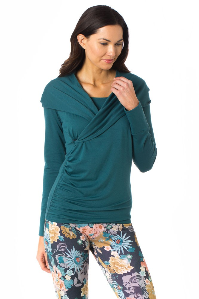 Majamas Belinda Maternity & Nursing Hoodie (Holly)
