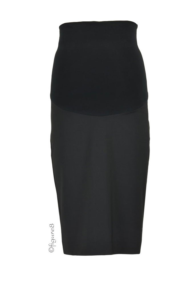Slacks & Co. Washington Maternity Career Skirt (Black)