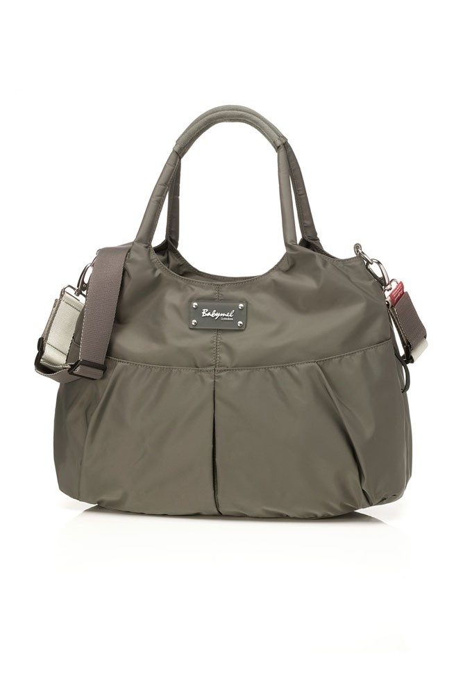 Babymel Zahra Diaper Bag (Grey)