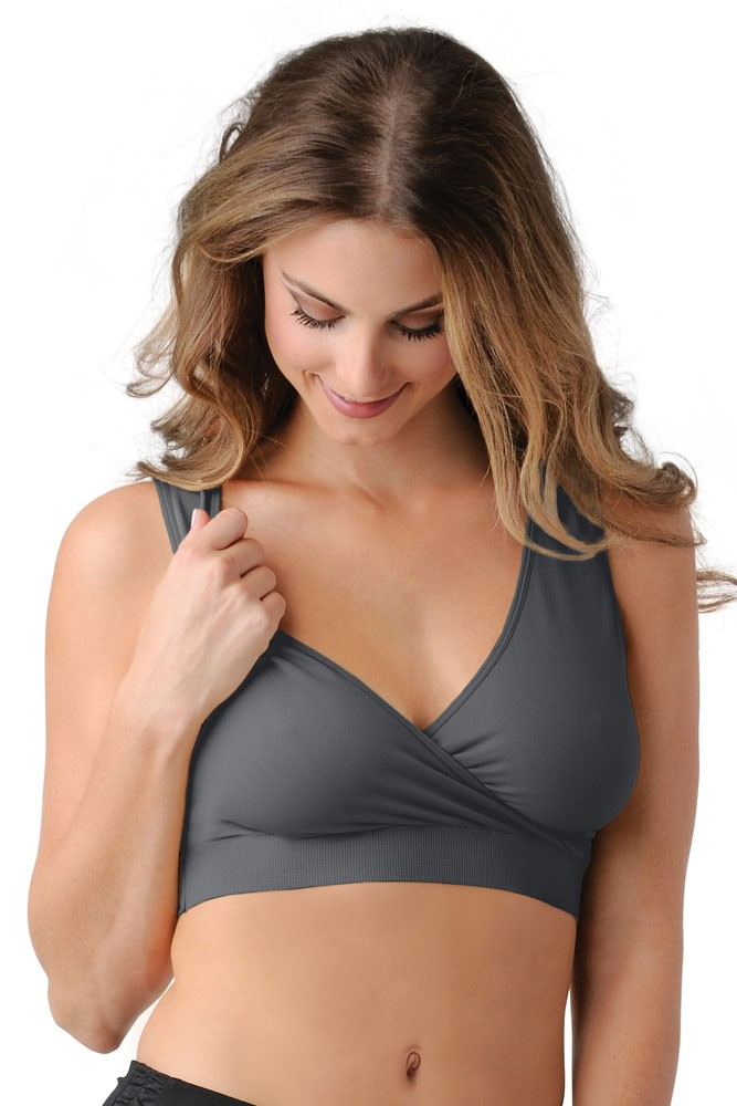 BDA Nursing Bra by Belly Bandit (Grey)