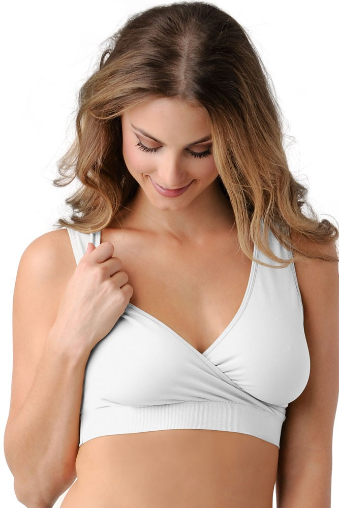 BDA Nursing Bra by Belly Bandit (White)
