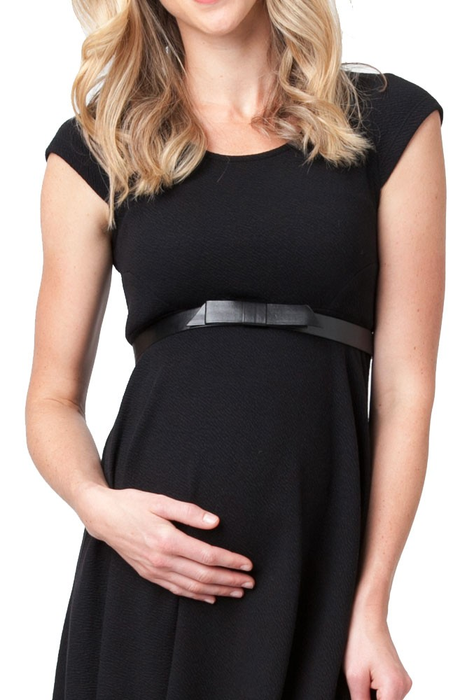 Flat Bow Belt (Black)