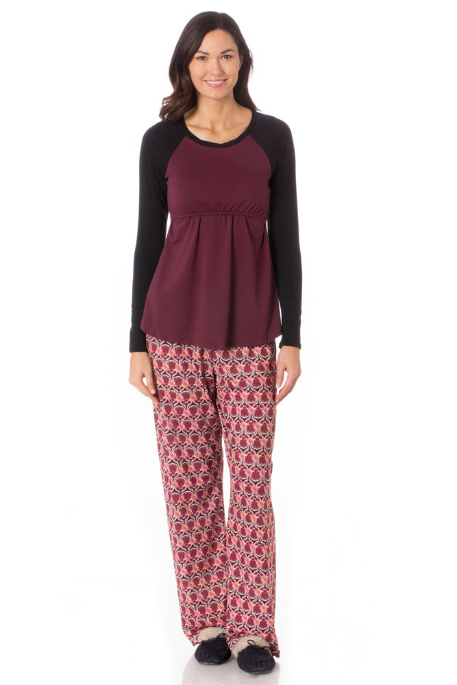 Majamas Pastime Nursing PJ Set (Deco)