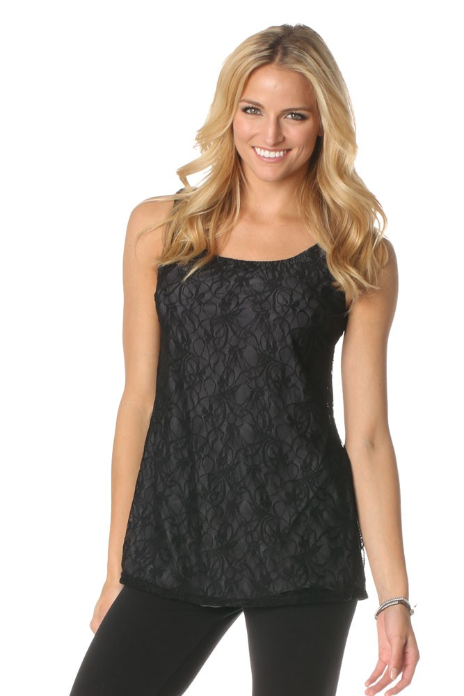 Majamas Everyday Maternity & Nursing Cami (Lace)