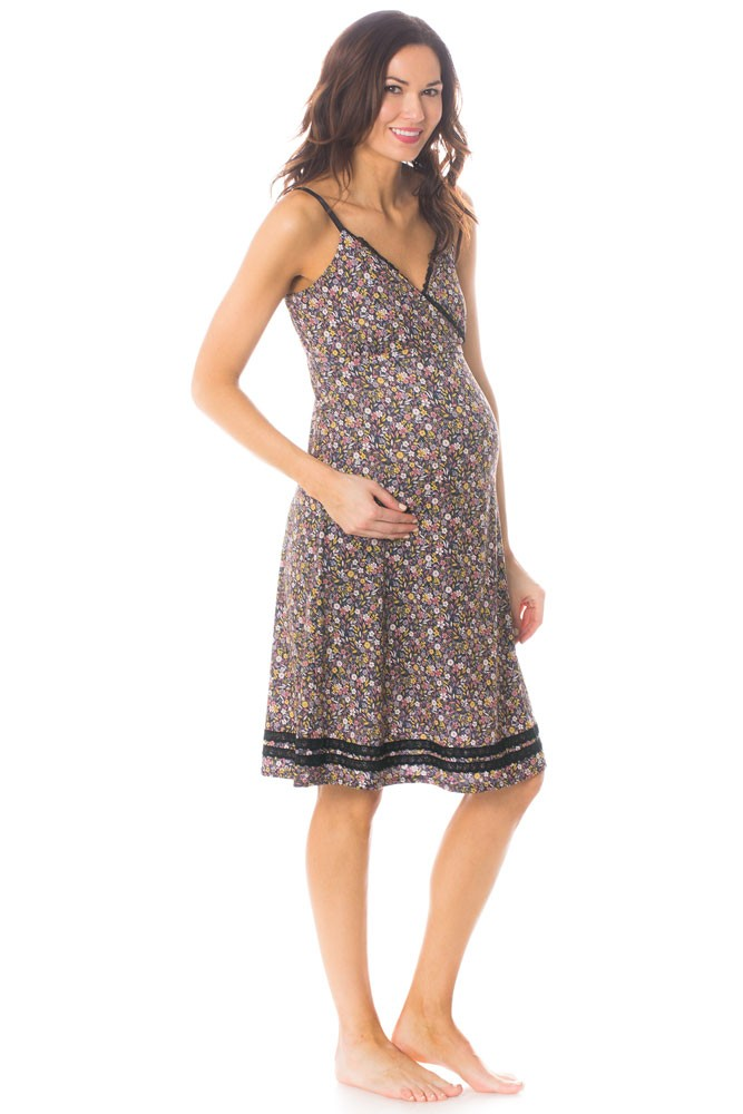 Majamas Madison Nursing Nightie (Woodland)
