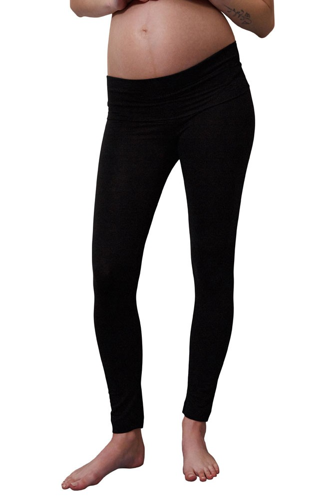 Boob Design Once-On-Never-Off Maternity Leggings (Black)