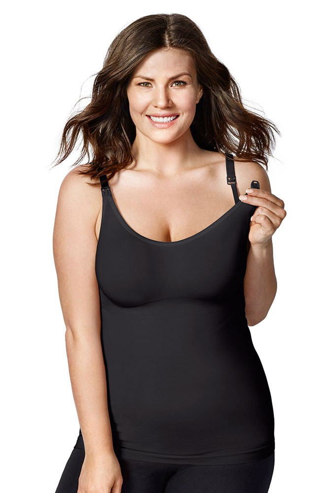 Bravado Designs Body Silk Seamless Nursing Cami (Black)