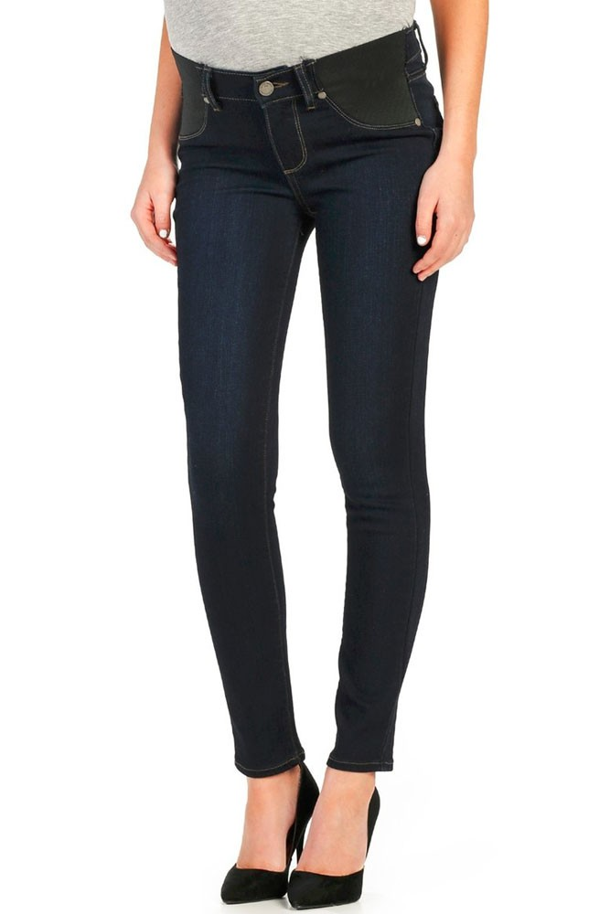 Paige Denim Verdugo Ankle Maternity Jeans w/ Elastic Insets (Mona)
