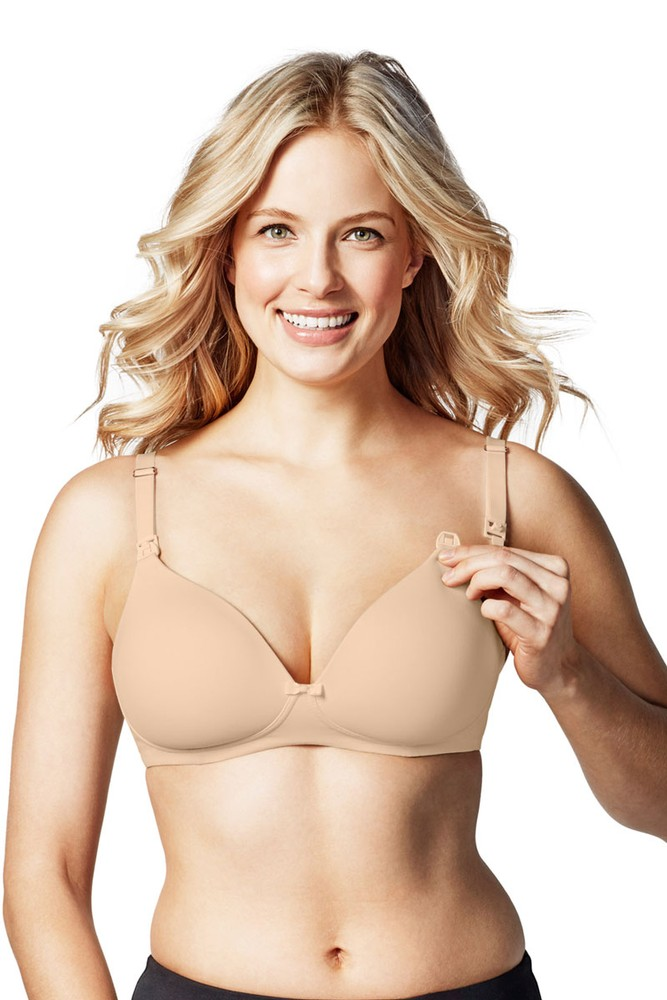 Bravado! Designs Buttercup Wireless Maternity & Nursing T-Shirt Bra (Bare)