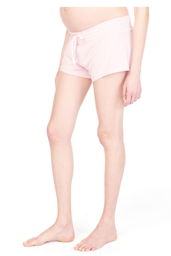 Ingrid & Isabel Lounge Maternity Short (Blush)