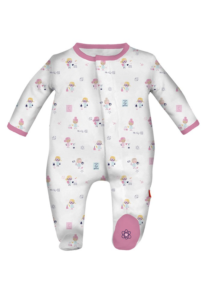Magnificent Baby Magnetic Me™ Baby Girl Footie (Girl Genuis)