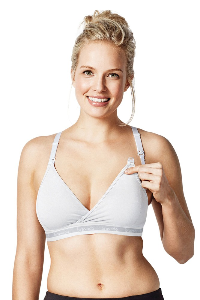 Bravado Designs Original Nursing Bra (White)