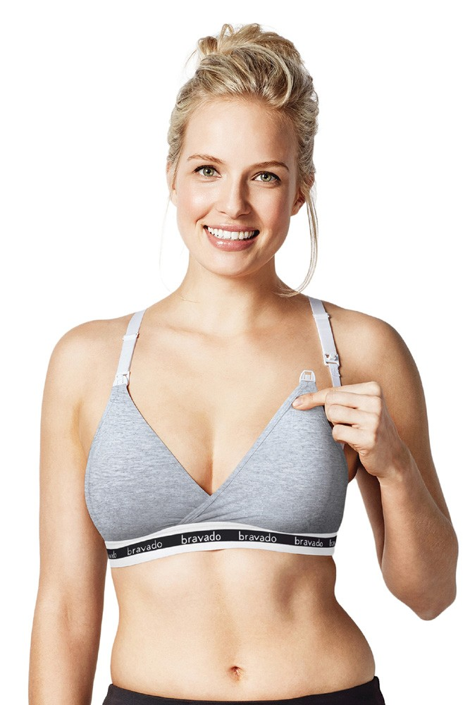 Bravado Designs Original Nursing Bra (Dove Heather)