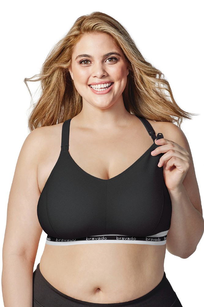 Bravado Designs Original Nursing Bra - Full Cup (Black)