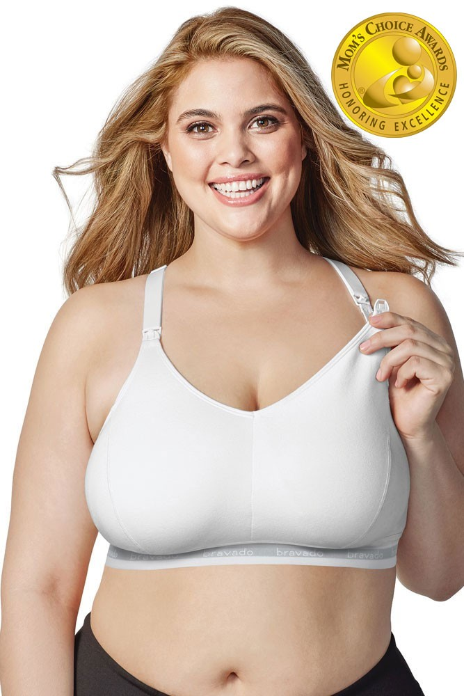 Bravado Designs Original Nursing Bra - Full Cup (White)