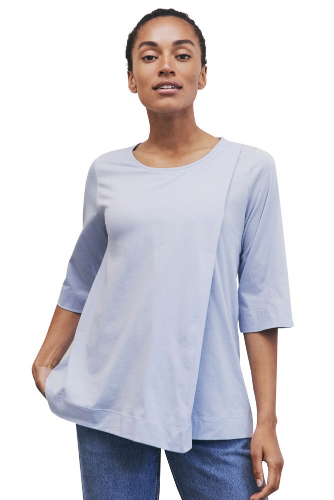 Boob Design Anouk Organic Maternity & Nursing Top (Summer Sky)