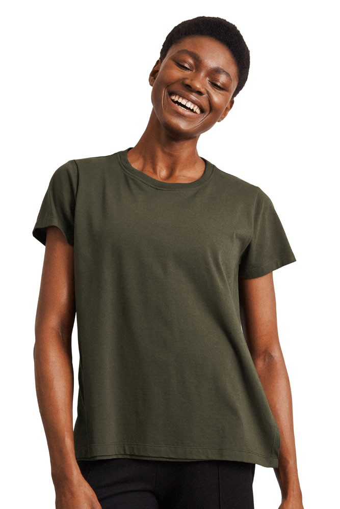 The-Shirt Organic Nursing Tee by Boob Design (Moss Green)