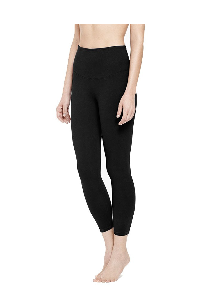 Yummie Gloria Skimmer Cotton Control Legging (Black)
