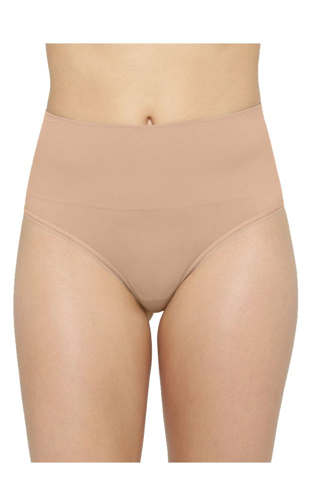 Yummie Tummie Ultralight Seamless Shaping Thong (Almond)