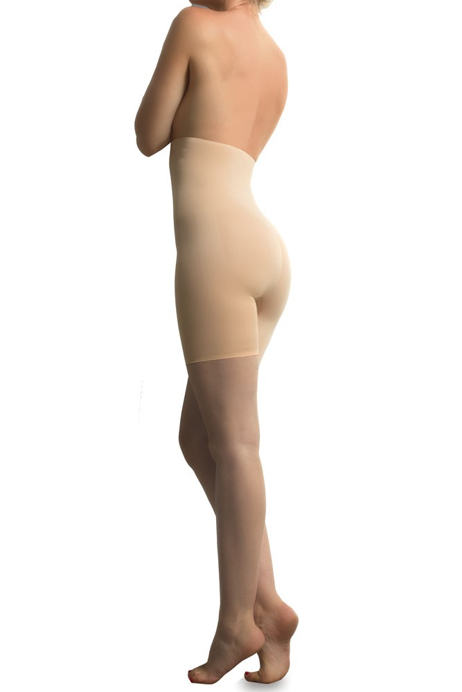 Cache Coeur Body Sculpting Panty with Microencapsulation (Nude)