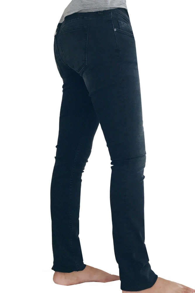 Mila Over the Belly Slim Maternity & After Baby Jeans (Midnight Blue)