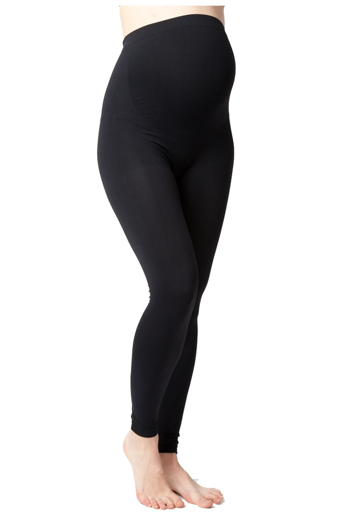 Ripe Maternity Seamless Support Belly Maternity Legging (Black)