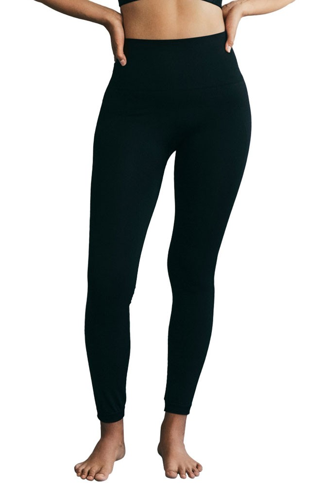 Boob Design Soft Support After-Baby Sports Leggings (Black)