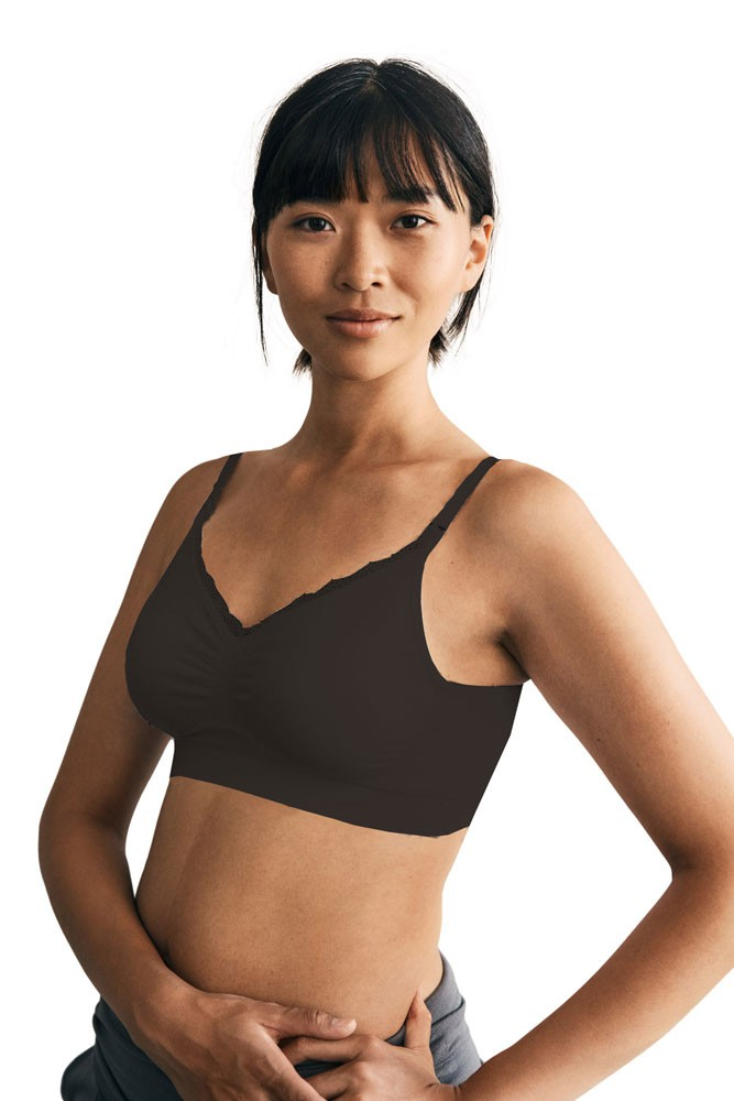Boob Design Fast Food Nursing Bra (Black)