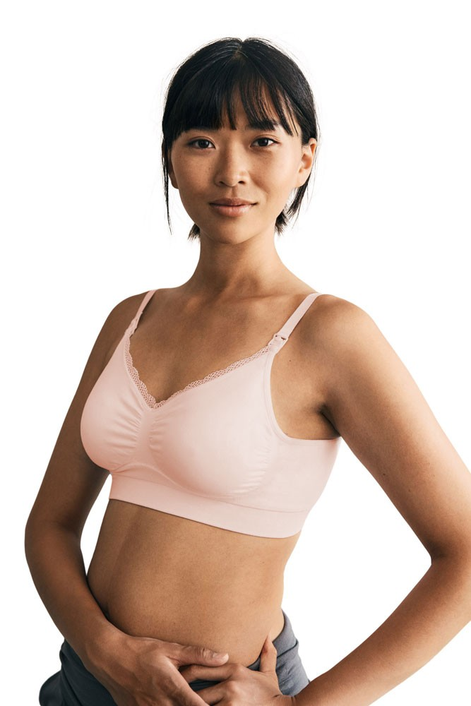 Boob Design Fast Food Nursing Bra (Soft Pink)