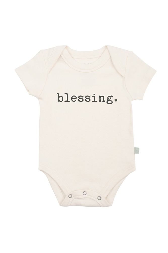 Finn + Emma Graphic Organic Bodysuit (Blessing)