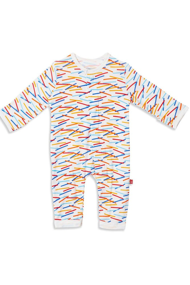 Magnetic Me™ by Magnificent Baby Modal Coveralls (Line Up)