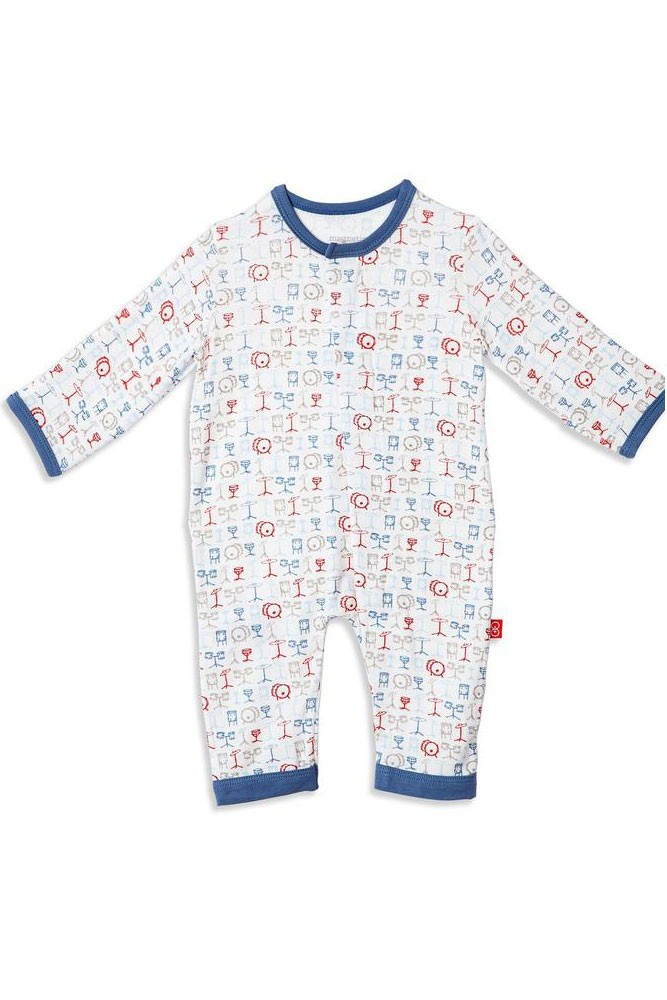 Magnetic Me™ by Magnificent Baby Modal Coveralls (A Star is Born)