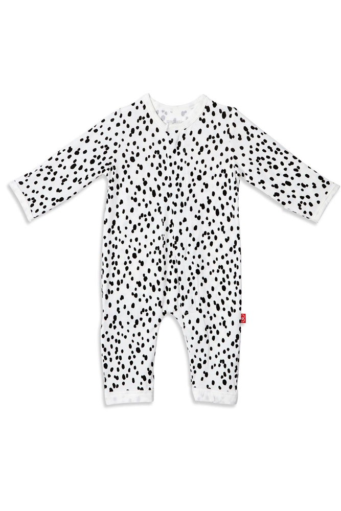 Magnetic Me™ by Magnificent Baby Modal Coveralls (Seeing Spots)