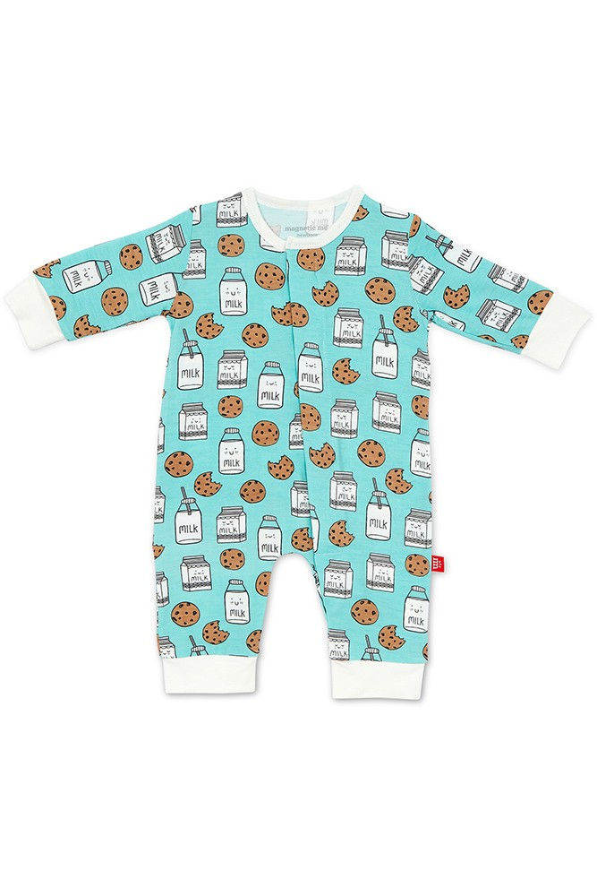 Magnetic Me™ Modal Magnetic Baby Coveralls (Bedtime Stories)