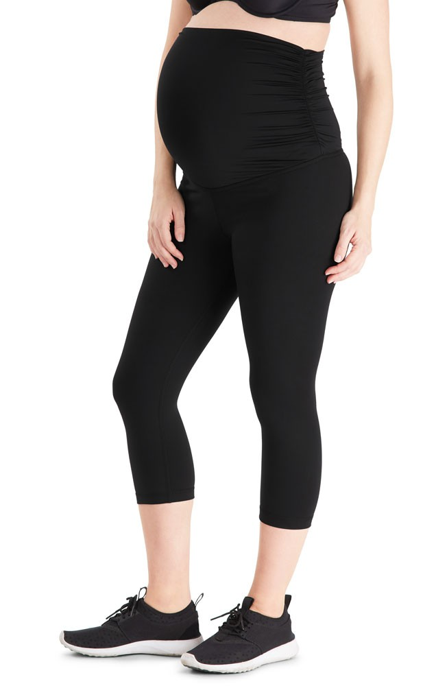Belly Bandit® ActiveSupport™ Essential Capri (Black)