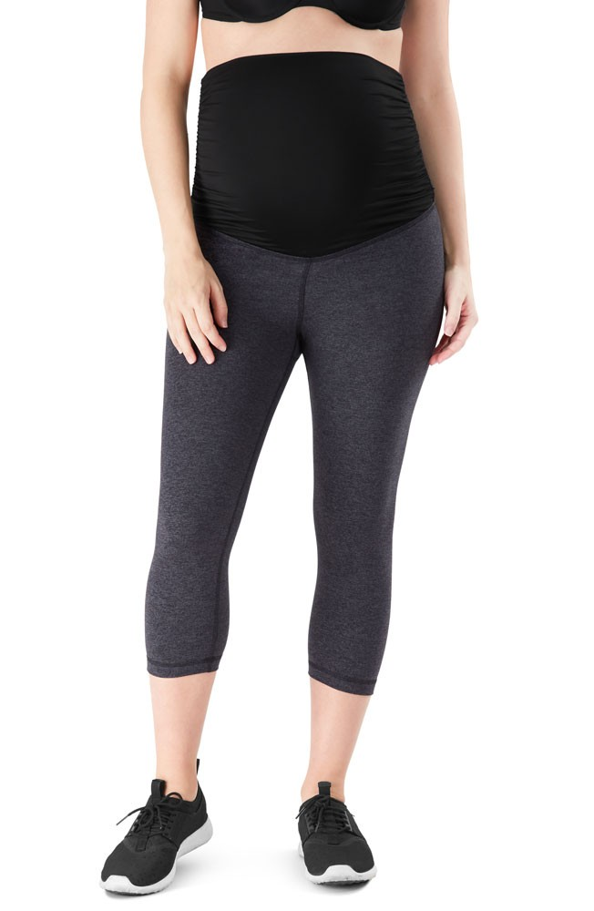 Belly Bandit® ActiveSupport™ Essential Capri (Charcoal)