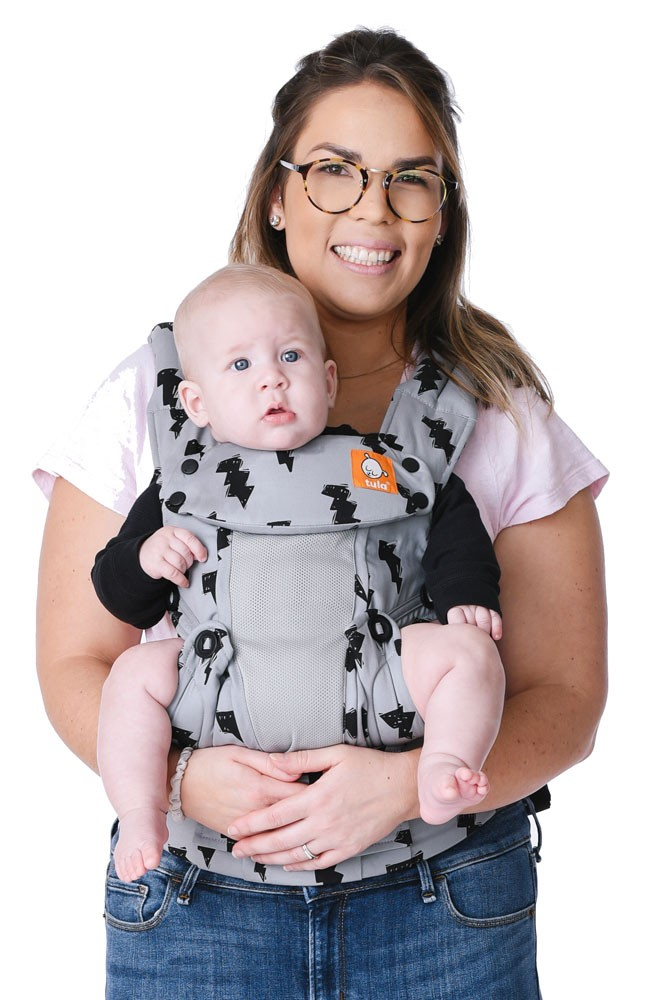 Baby Tula Explore 6-in-1 Baby & Toddler Carrier (7-45 lbs ) (Coast Bolt)
